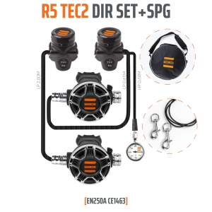 Automat Tecline R5 TEC2 DIR Set z Manometrem